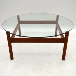 1960's Danish Teak Coffee Table by Illum Wikkelso
