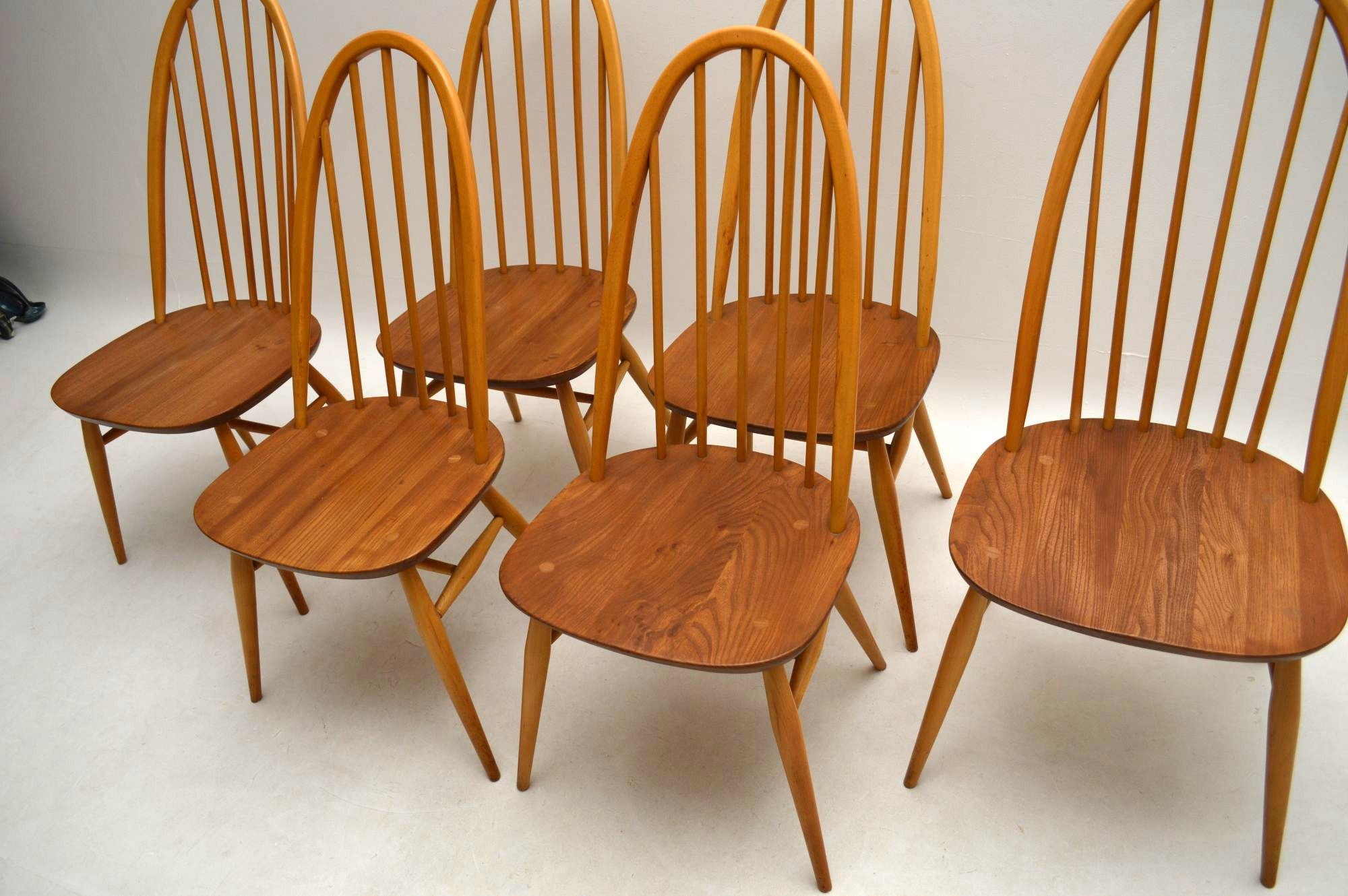 1960 S Ercol Grand Windsor Dining Table Amp Eight Chairs