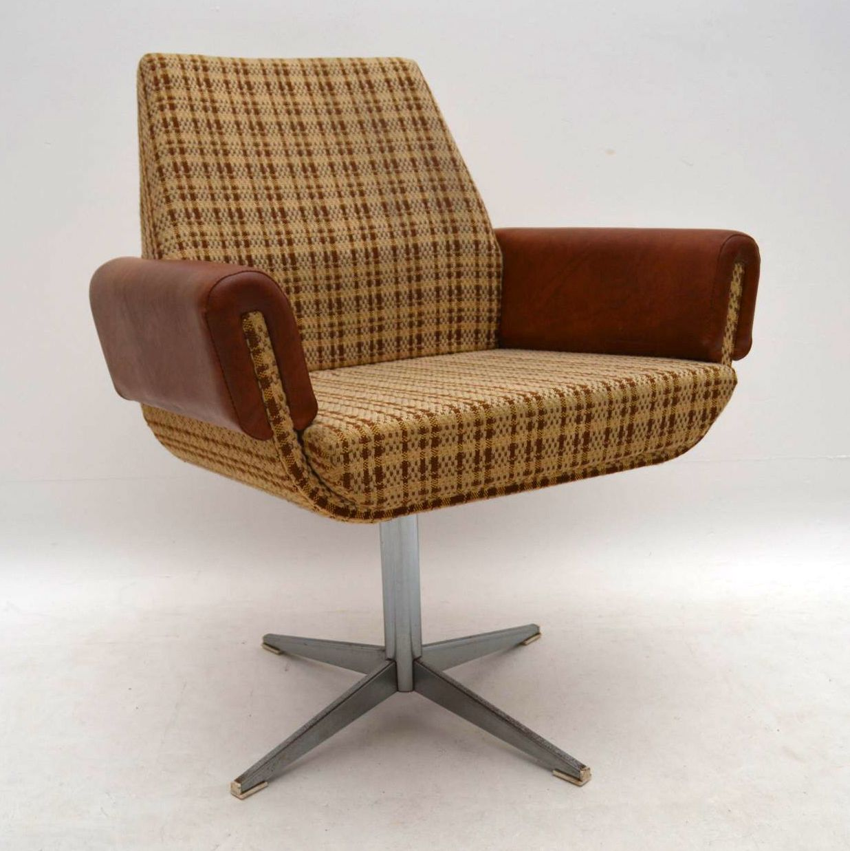 1960's Vintage Swivel Desk Chair | Retrospective Interiors ...
