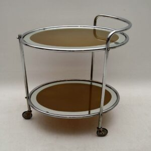 1950's Vintage French Drinks Trolley
