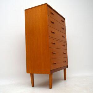 Vintage 1960's Teak Chest of Drawers