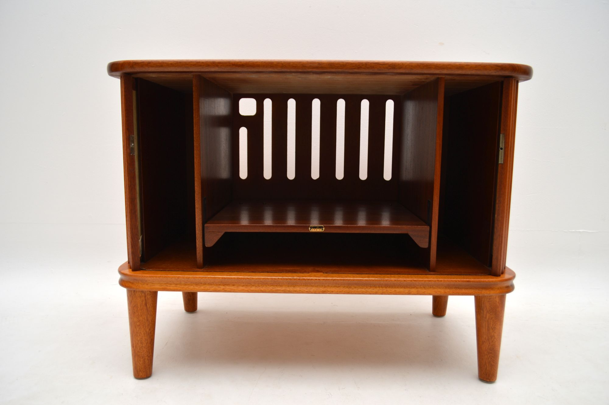 1960 S Vintage Teak Tv Cabinet Retrospective Interiors Vintage Furniture