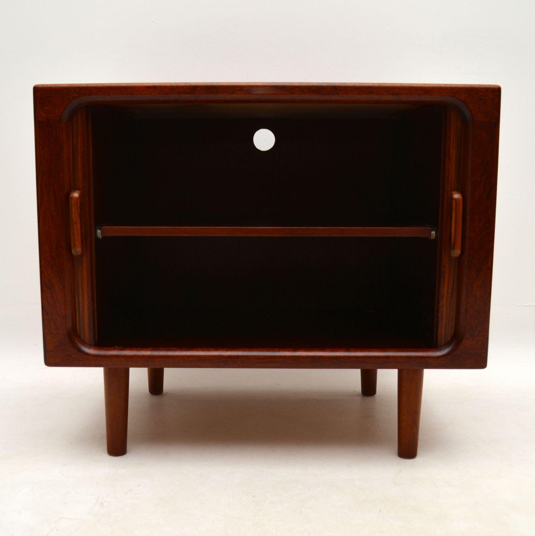 1960 S Vintage Danish Rosewood Tv Cabinet Sideboard