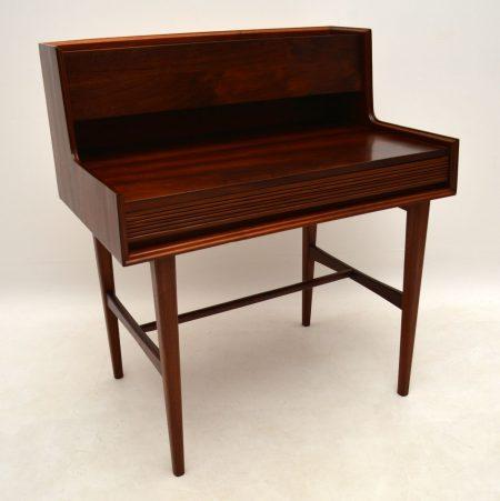 1950's Vintage Walnut Desk by Richard Hornby