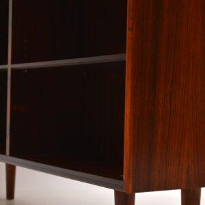1960's Danish Vintage Rosewood Bookcase / Sideboard