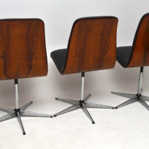 1960's Vintage Rosewood Dining Table & Chairs by Robert Heritage for Archie Shine