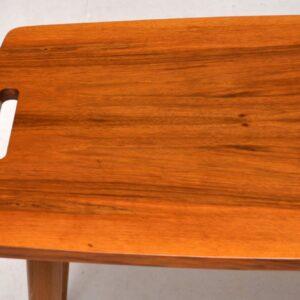 1950's Vintage Walnut Coffee Table