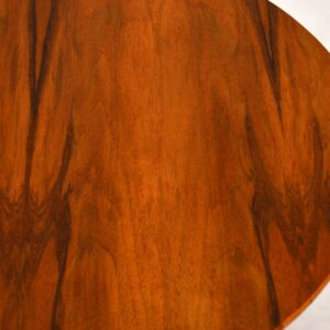 1950's Vintage Walnut Side Table / Coffee Table
