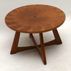 1950's Vintage Walnut Coffee Table