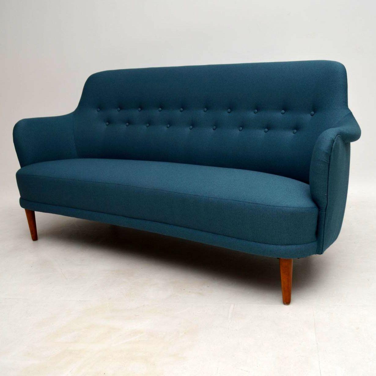 1960 S Vintage Carl Malmsten Samsas Sofa Retrospective