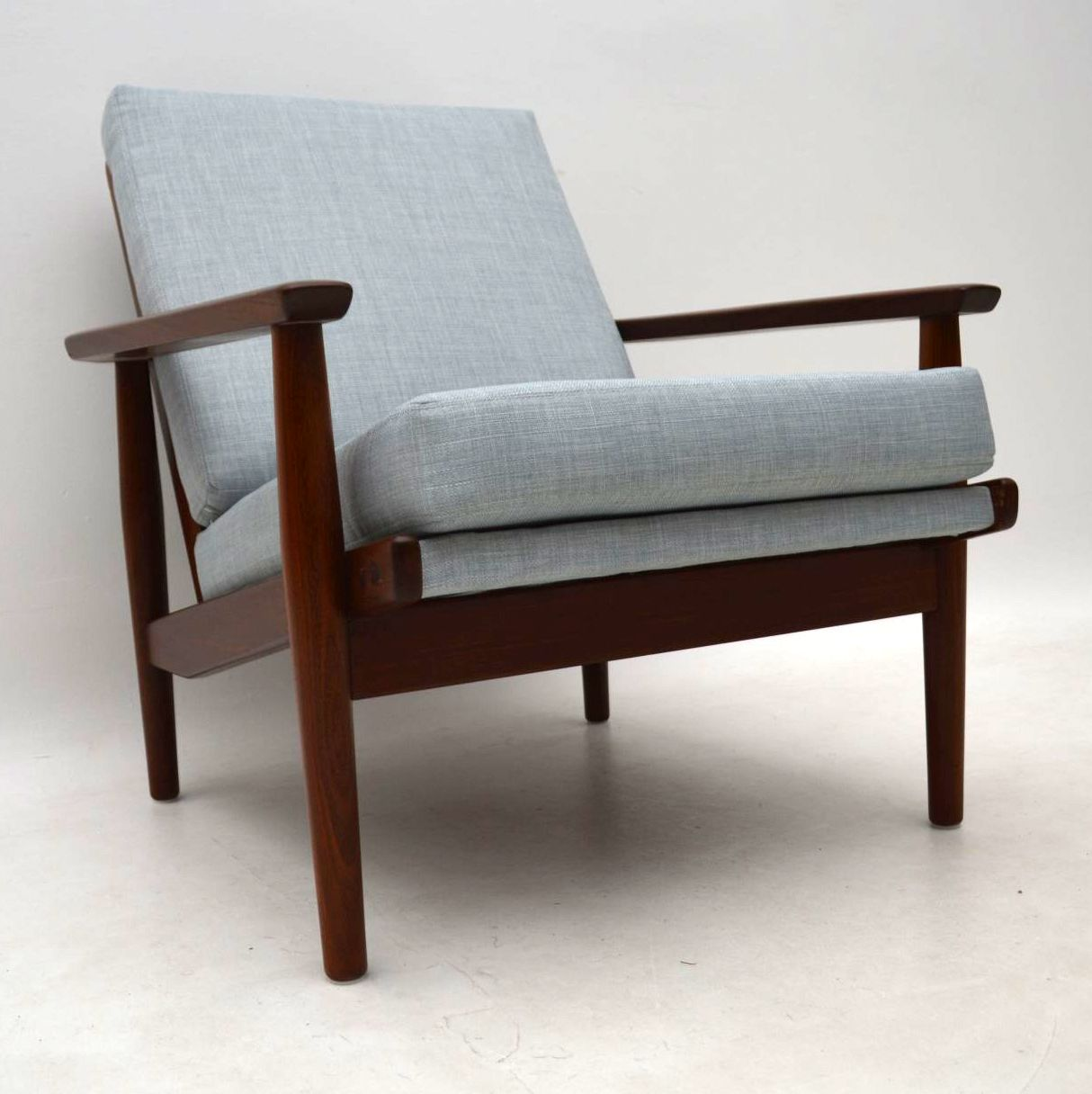 1960 S Danish Vintage Armchair In Afromosia