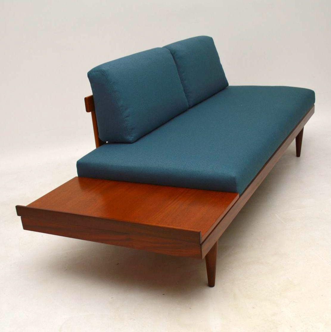 1950 S Vintage Teak Sofa Bed By Ingmar Relling