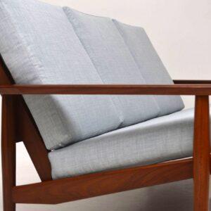 1960's Danish Vintage Sofa in Afromosia