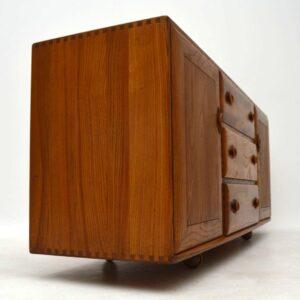 1960's Vintage Ercol Sideboard in Solid Elm