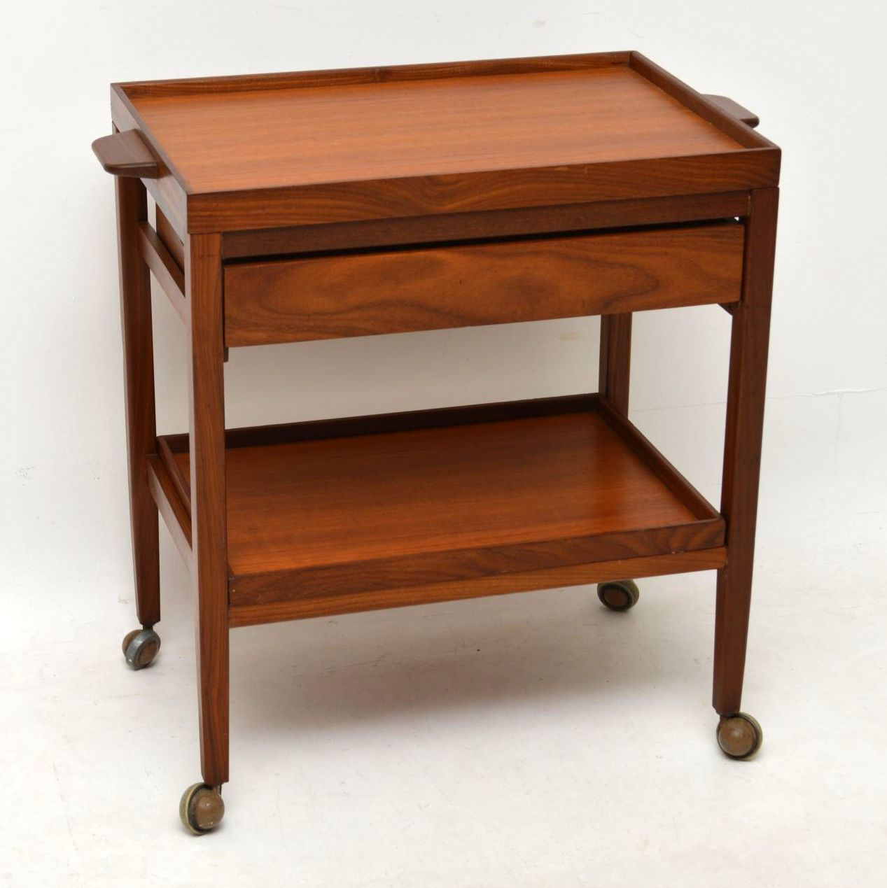 1960's Danish Teak Vintage Drinks Trolley | Retrospective