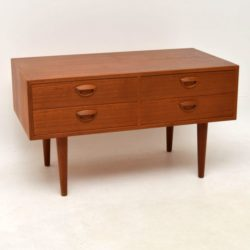 1960's Danish Teak Chest by Kai Kristiansen Vintage 1960's
