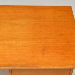 1950's Danish Vintage Oak Desk