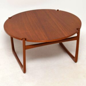 1960's Danish Teak Coffee Table by Peter Hvidt & Orla Mølgaard Nielsen