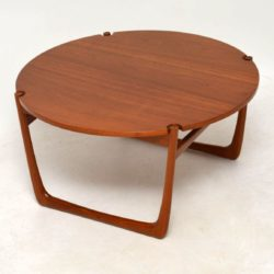 1960's Danish Teak Coffee Table by Peter Hvidt & Orla Mølgaard Nielsen