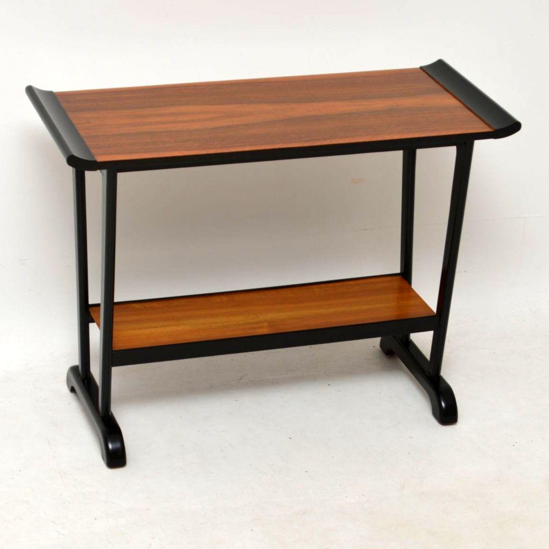 1960's Walnut Vintage Side Table