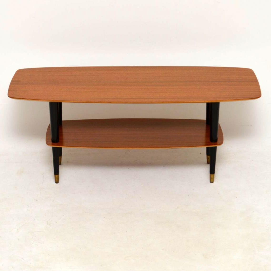 Vintage Teak Coffee Tables: 1950's Teak Vintage Coffee Table