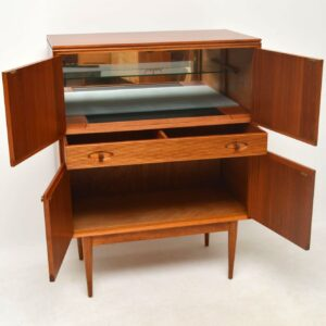 1960's Rosewood & Mahogany Drinks Cabinet by Robert Heritage for Archie Shine
