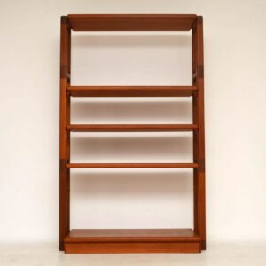 1960's Danish Teak Vintage Bookcase / Room Divider