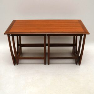 1960's Vintage G- Plan Teak Nesting Coffee Table / Side Tables