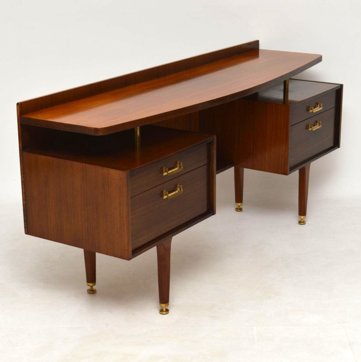 1950 S Vintage Desk In Afromosia By G Plan