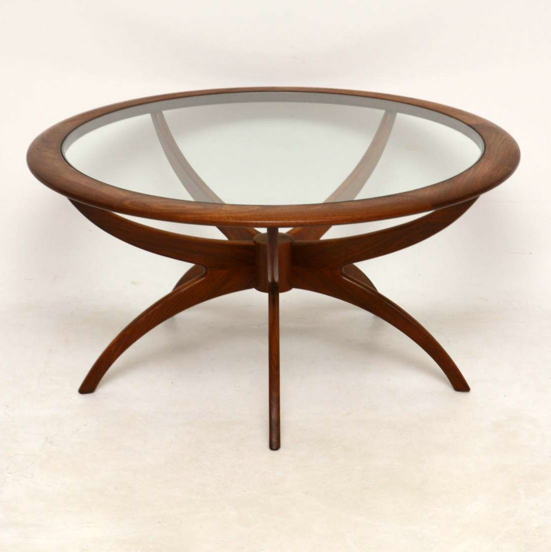 1960 S Vintage Teak Spider Coffee Table By G Plan