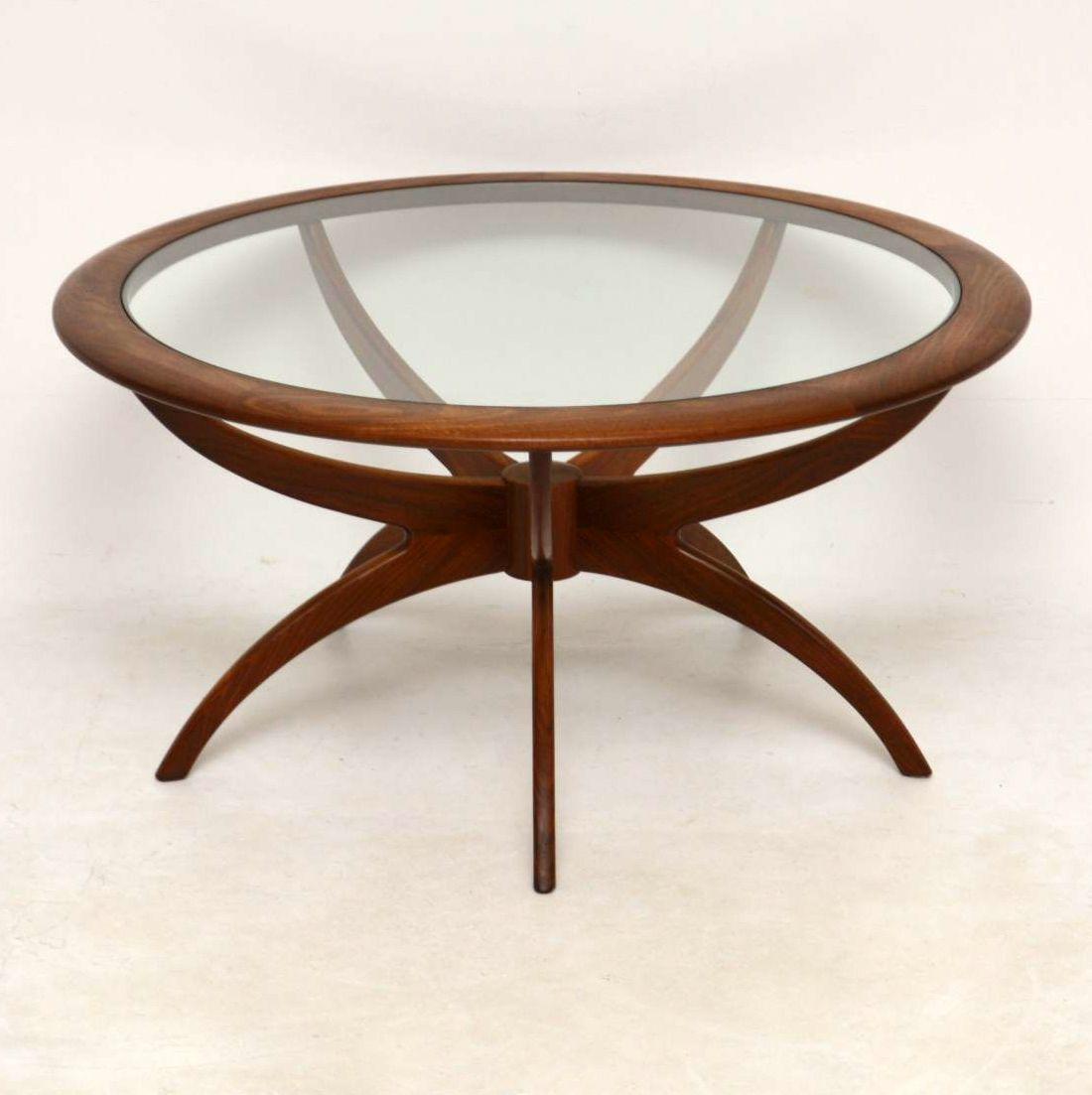 G Plan Vintage Coffee Tables: 1960's Vintage Teak Spider Coffee Table By G- Plan