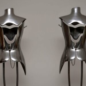 Aluminium & Steel Mannequins by Nigel Coates for Jigsaw
