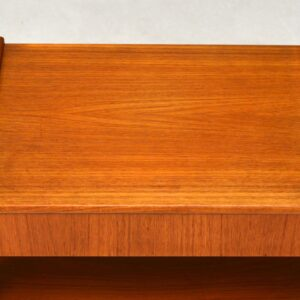 1960's Pair of Swedish Teak Vintage Bedside Tables by AB Carlstrom