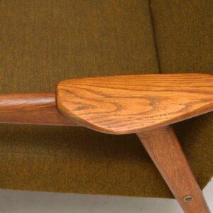 1960's Swedish Vintage Teak Armchair by Yngve Ekstrom