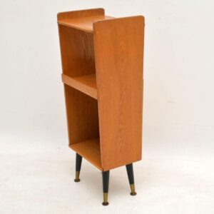 1950's Vintage Oak Side Table / Bedside Cabinet