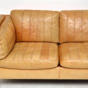 danish vintage leather sofa borge mogensen