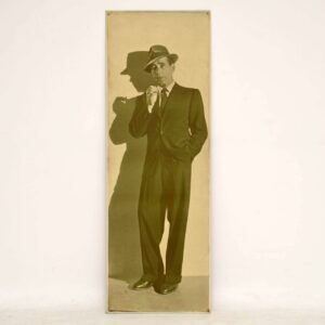 Humphrey Bogart Vintage Print on Board - From Casablanca Stage Production