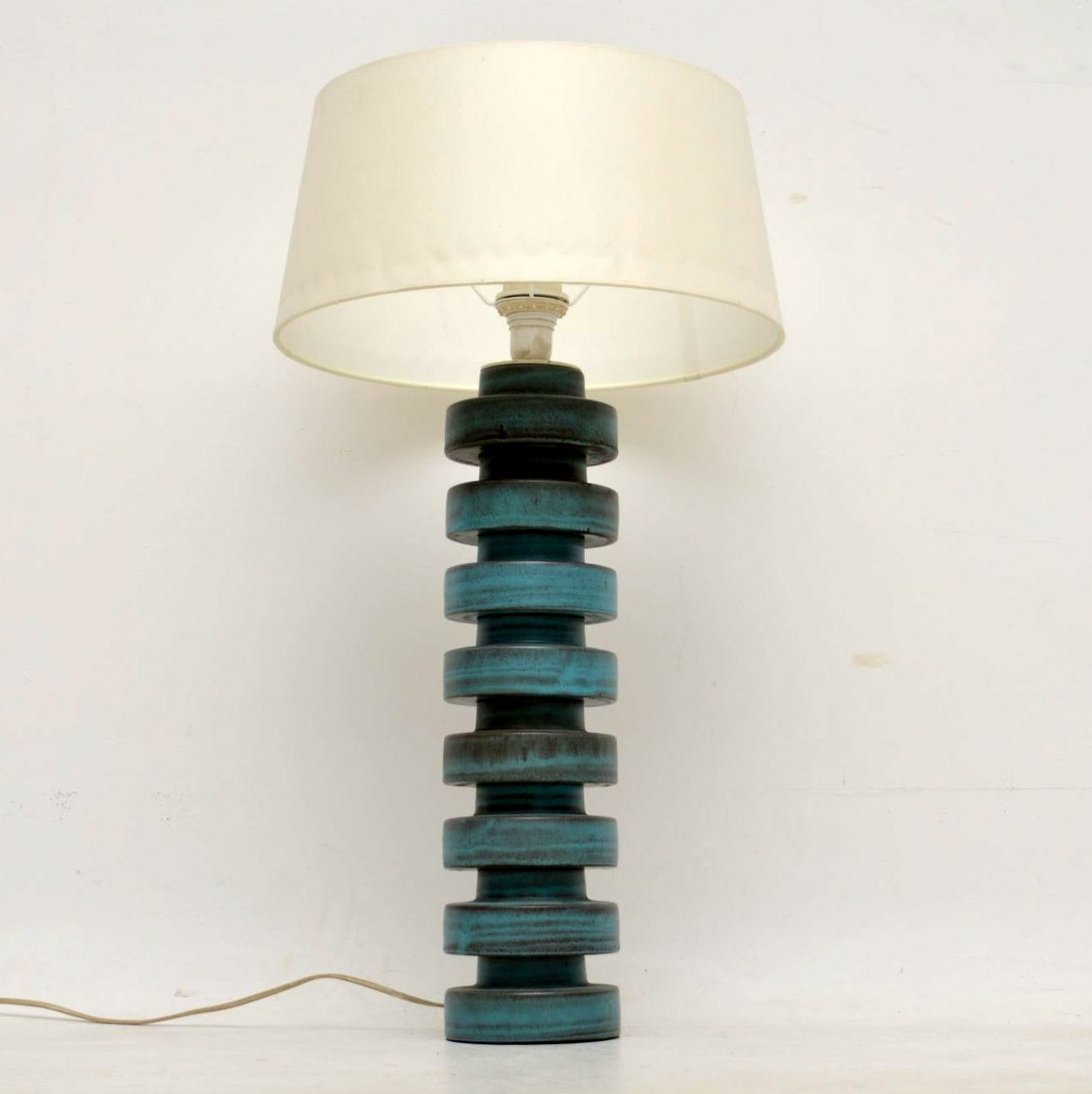 1960's Danish Vintage Ceramic Lamp