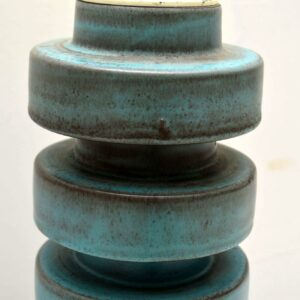 1960's Danish Vintage Ceramic Lamp