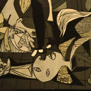 Guernica by Pablo Picasso - Large Vintage Print on Board