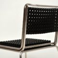 Modernist Steel & Plastic Desk Chair / Side Chair