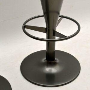 Set of Three Swedish Retro Bar Stools By Johanson Design