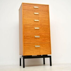 vintage g- plan tallboy chest of drawers