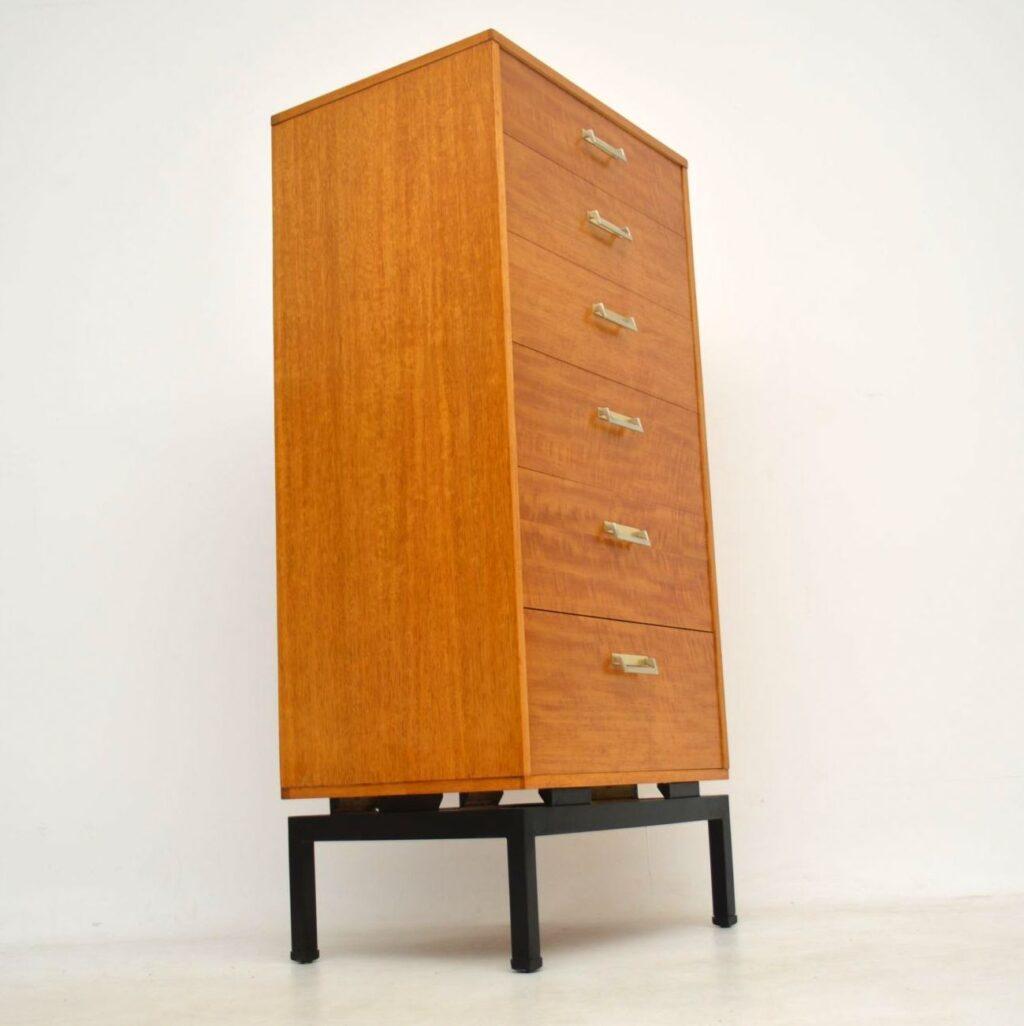 vintage g- plan tallboy chest of drawers