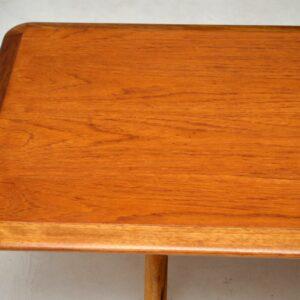 danish vintage teak coffee table