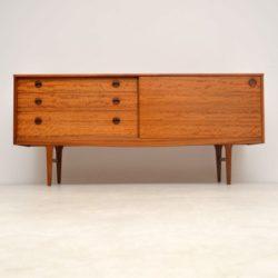vintage satin wood sideboard