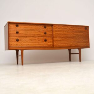 vintage satin wood sideboard by nathan