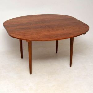 1960's Teak Dining Table and 6 Chairs by Greaves & Thomas