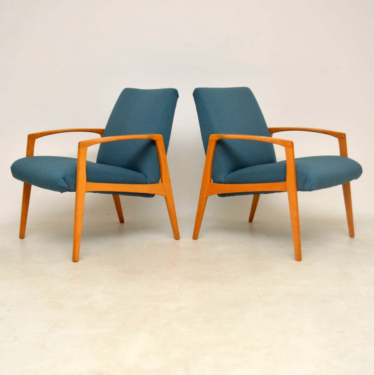 1960 S Pair Of Swedish Vintage Armchairs Retrospective Interiors