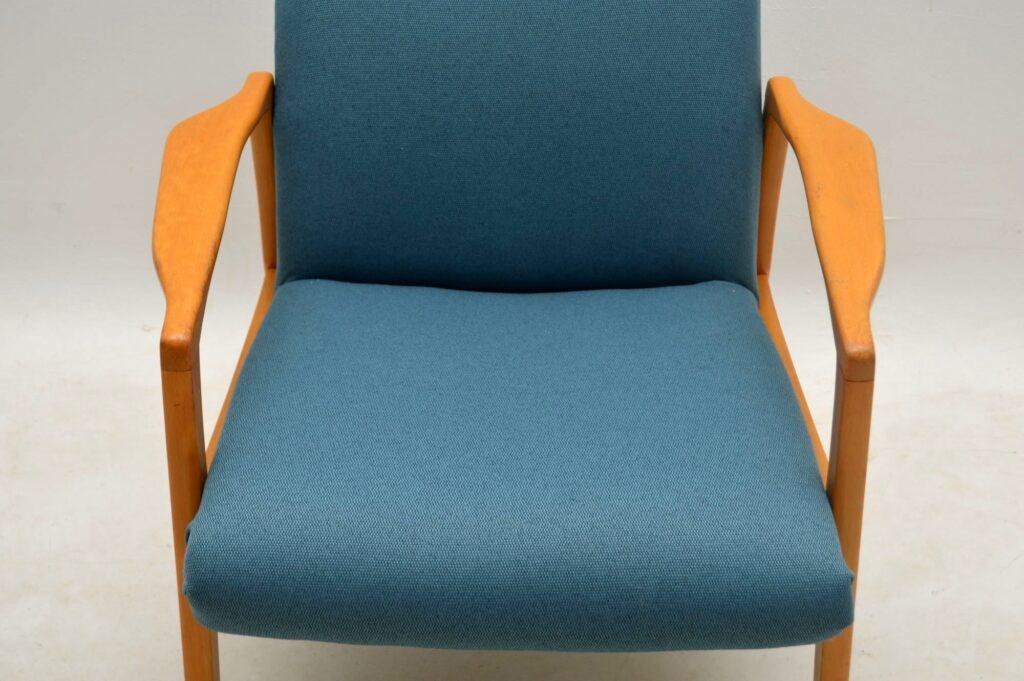 pair of mid-century danish armchairs